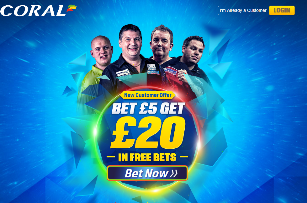 coral darts offer