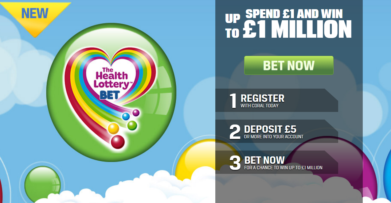 Health lottery deals